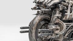 Ducati Hypermotard Terminator Salvation 2009: un dettaglio dell'anteriore