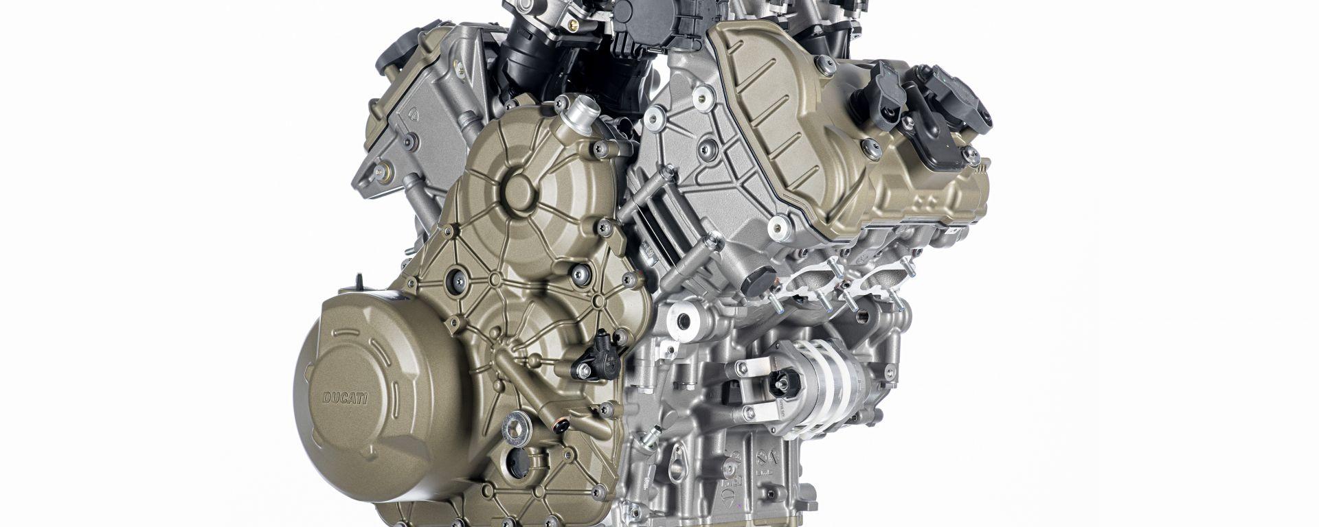 Ducati presenta V4 Granturismo, il motore della prossima Multistrada