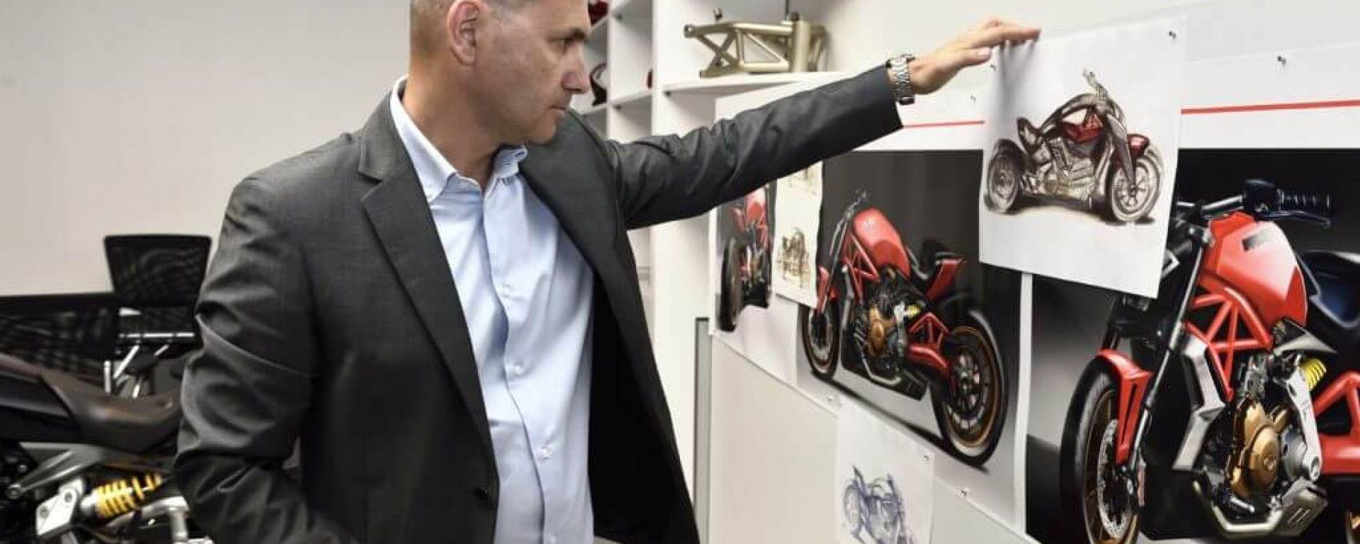 Ducati: in futuro elettrico, ibrido ma anche ritorno al vintage