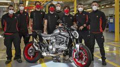 Ducati inizia la produzione del nuovo Monster: arriva ad aprile