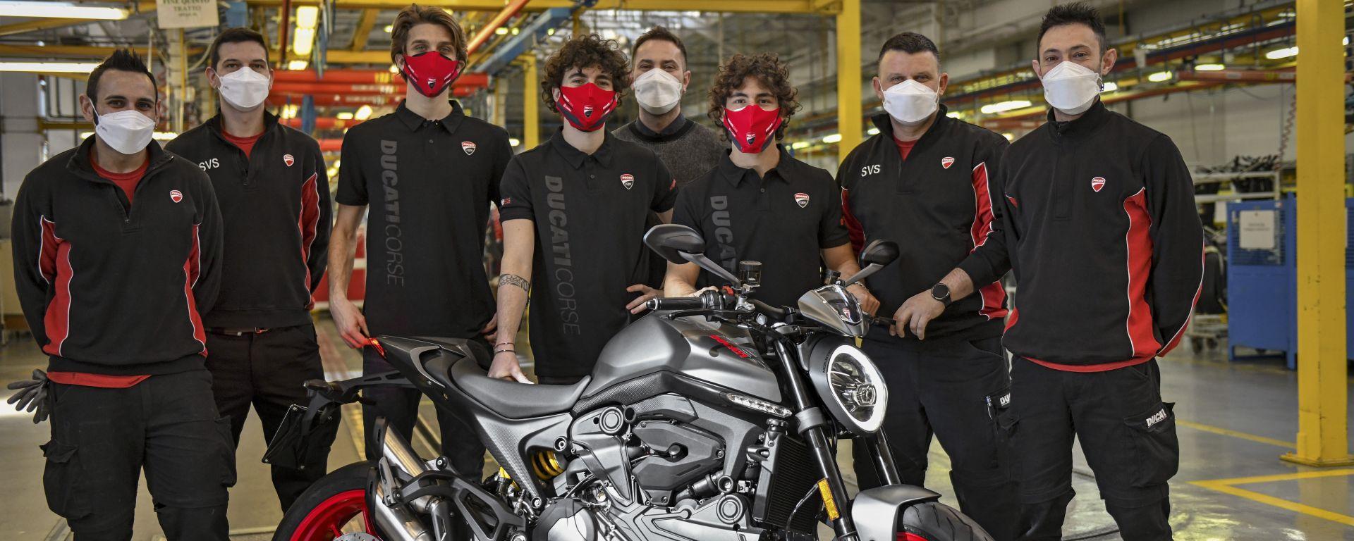 Ducati, luce verde per la produzione del nuovo Monster