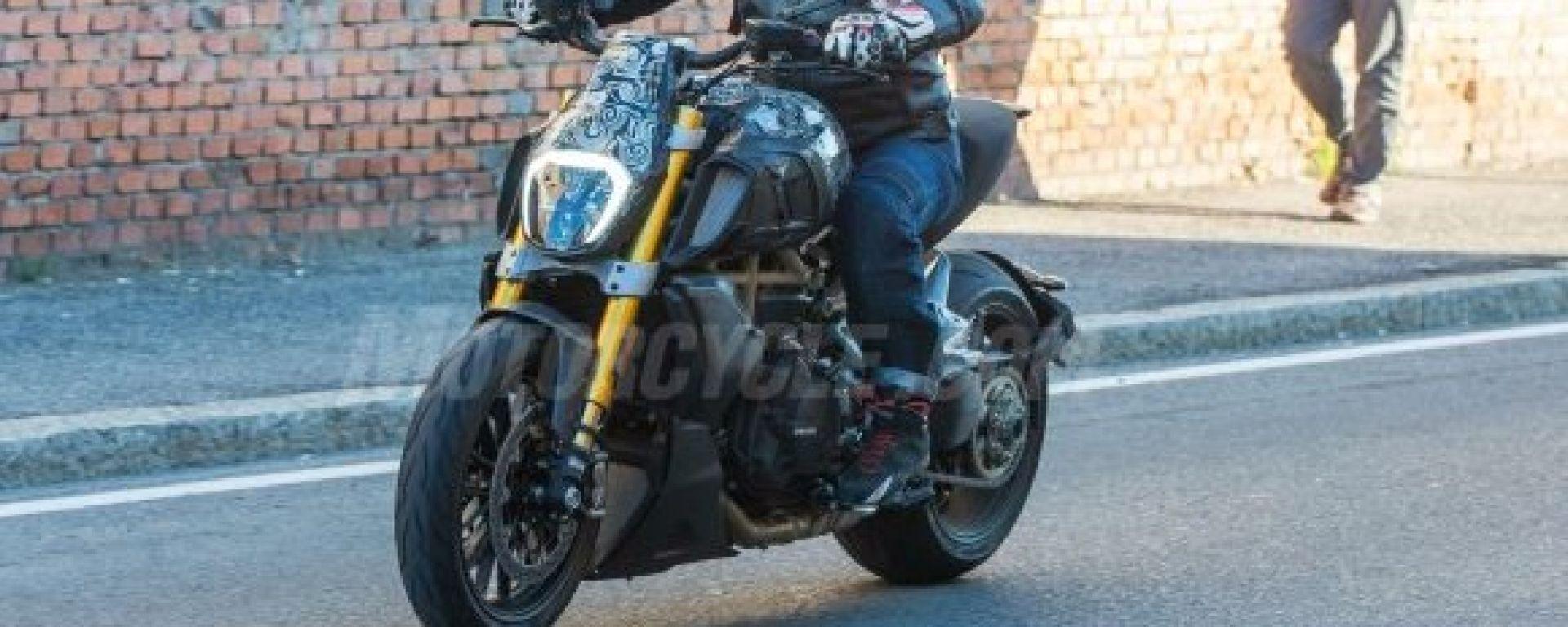 Ducati Diavel: le prime foto della moto misteriosa del WDW