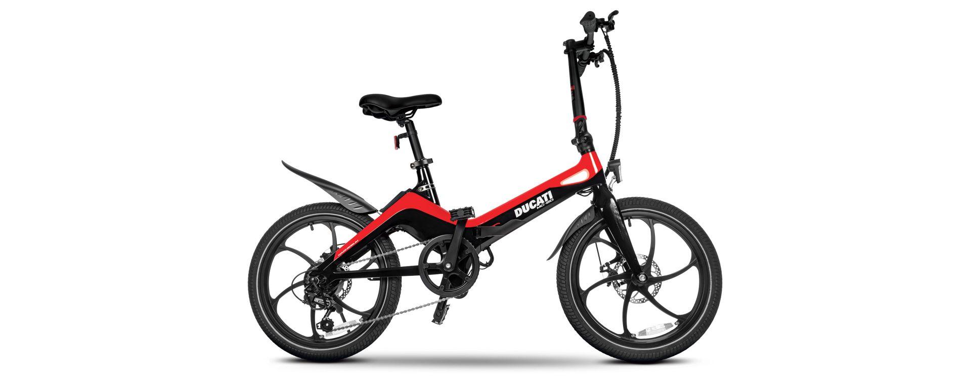 Ducati MG-20, la nuova e-bike pieghevole di MT Distribution