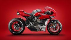 Ducati MH900 Heritage by Jakusa Design: vista laterale