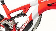 Ducati MIG-S 2020: particolare dell'ammortizzatore
