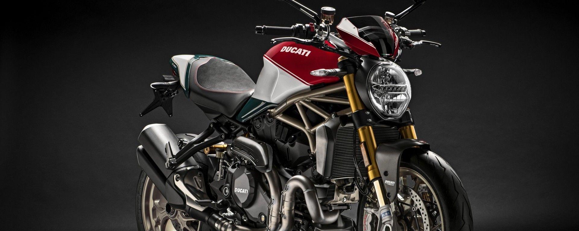 Ducati Monster 1200: ecco l'edizione limitata 25° anniversario