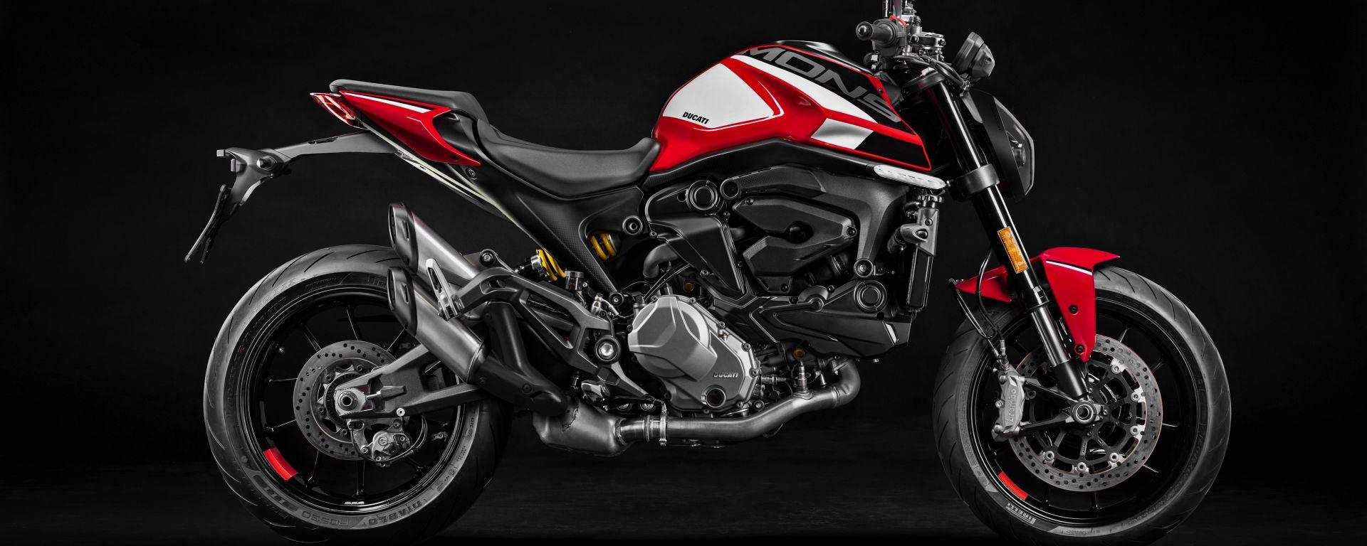 Ducati Monster: accessori e kit adesivi per personalizzarlo