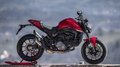Ducati Monster 2021: lato destro