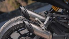 Ducati Monster 2021: lo scarico di serie non convince a pieno nell'aspetto