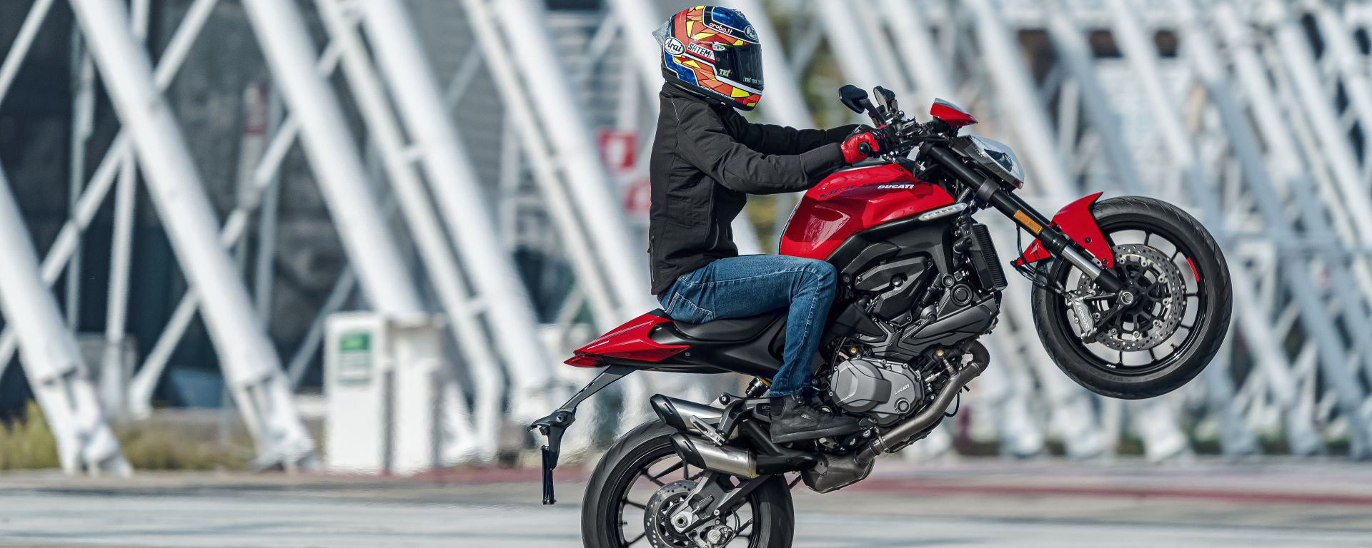 Senza traliccio non è un Ducati Monster! O forse no?