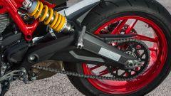Ducati Monster 797, forcellone bibraccio