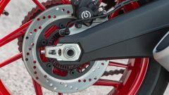 Ducati Monster 797, freno posteriore