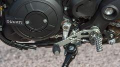 Ducati Monster 797, leva cambio