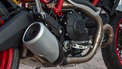 Ducati Monster 797, scarico originale