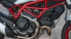 Ducati Monster 797, telaio a traliccio in acciaio