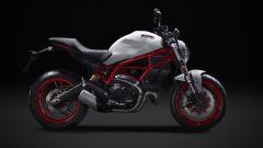 Ducati Monster 797, vista laterale