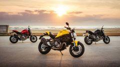 Ducati Monster 821, famiglia al completo