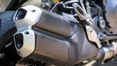 Ducati Monster 821, gli scarichi