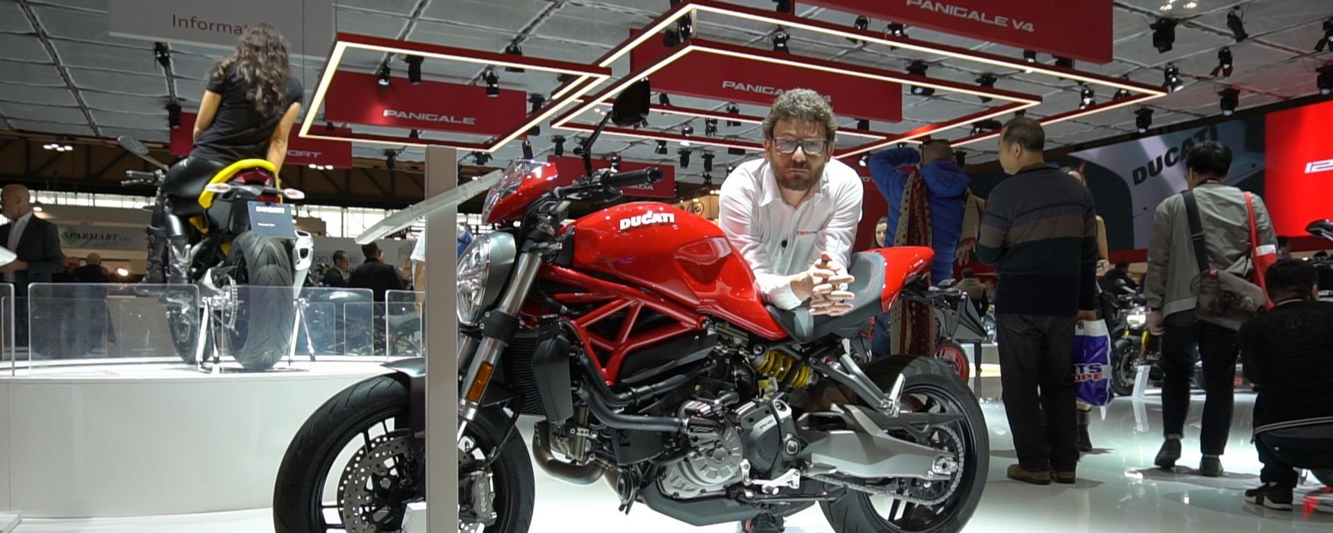 Ducati Monster 821: il mostro si rinnova come il fratellone [VIDEO]