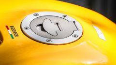 Ducati Monster 821, il tappo del serbatoio