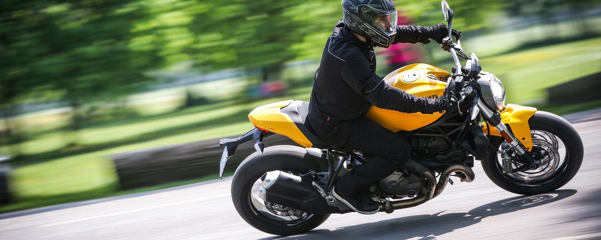 Ducati Monster 821, la nostra prova