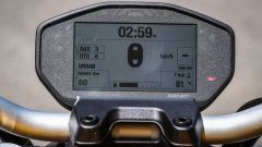 Ducati Monster 821, la strumentazione