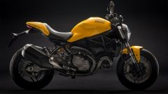 Ducati Monster 821, vista laterale destra