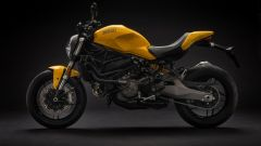 Ducati Monster 821, vista laterale sinistra