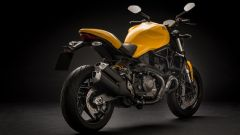 Ducati Monster 821, vista posteriore