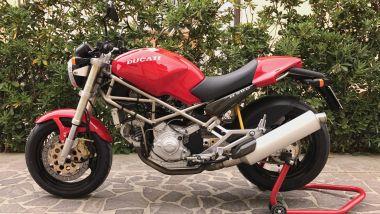 Ducati Monster ha introdotto le naked sul mercato