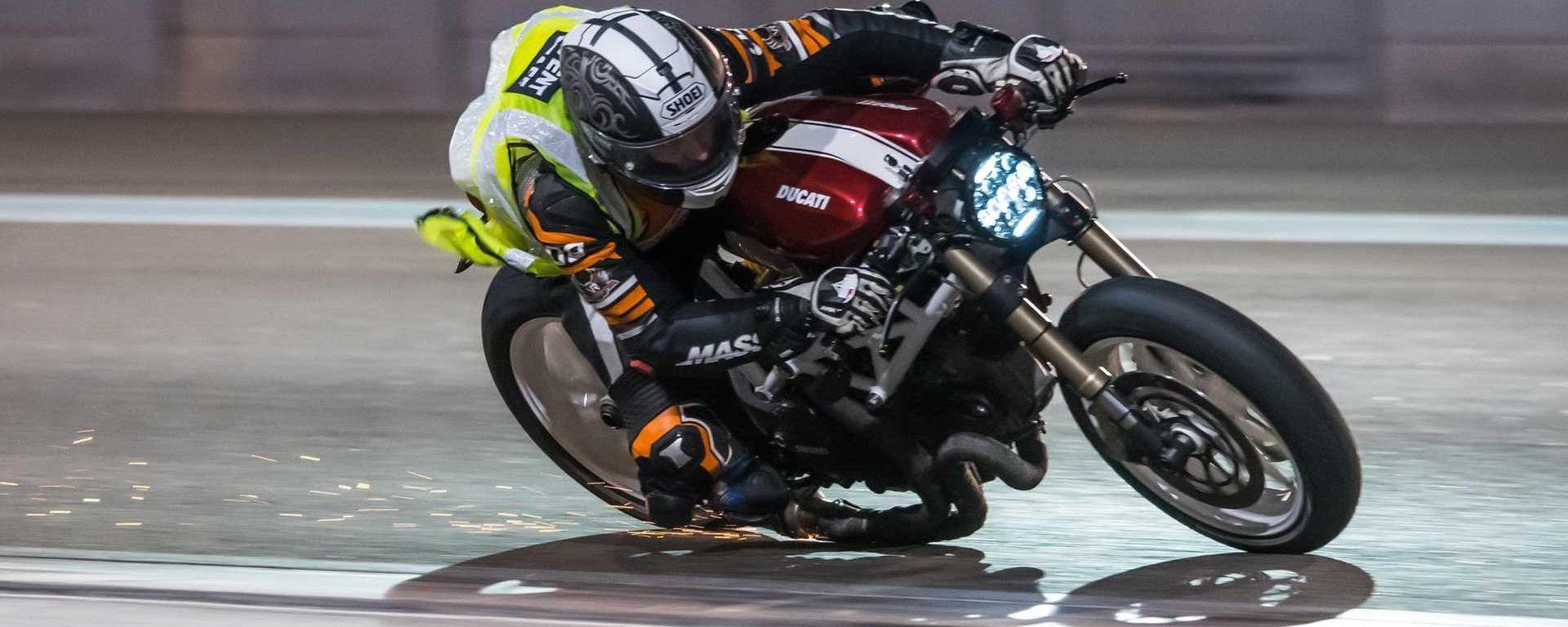 Ducati Monstrosity, la Café Racer da pista