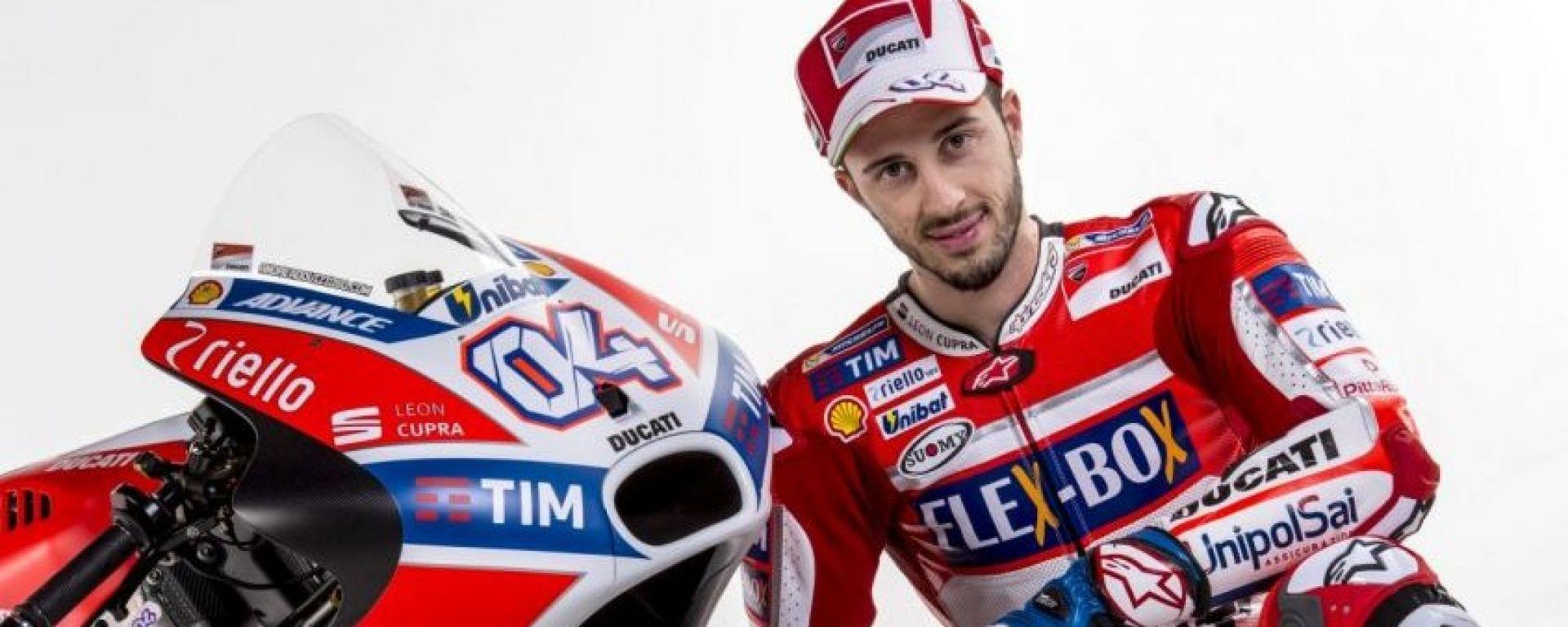 MotoGP, test Sepang, Dovizioso: la mia Ducati? Più veloce dell'anno scorso!