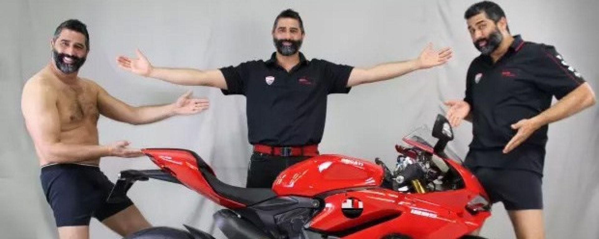 Ducati MotoCorsa: la foto scelta per la campagna di crowdfunding