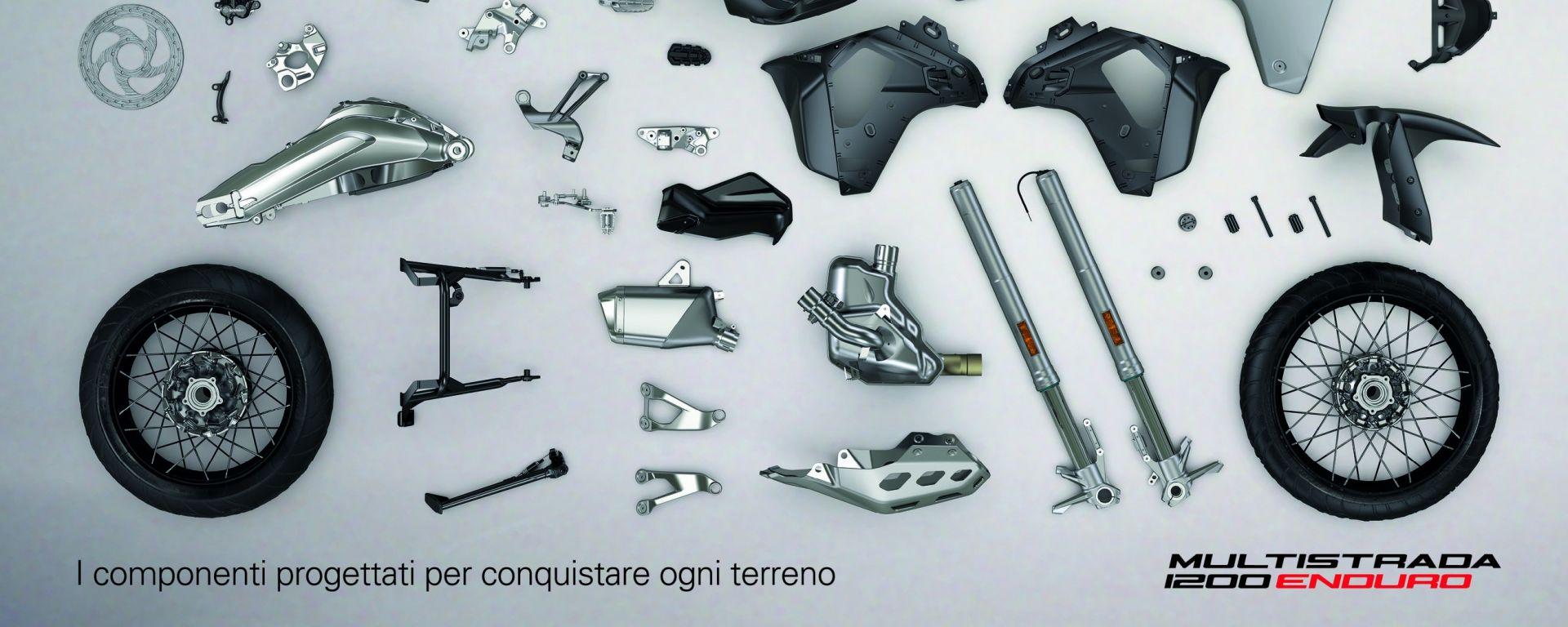 Ducati Multistrada 1200 Enduro: come è fatta