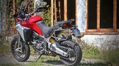 Ducati Multistrada 1200 Enduro, la vista posteriore