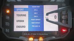 Ducati Multistrada 1200 Enduro, quadro strumenti