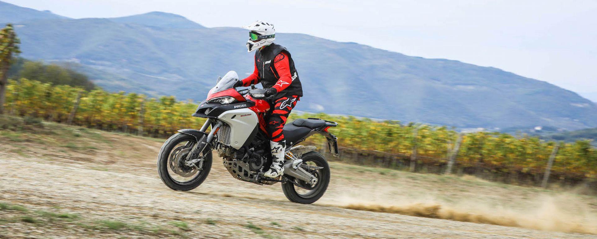 Ducati Multistrada 1260 Enduro: prova su strada e off-road