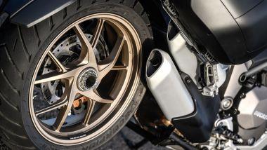 Ducati Multistrada 1260 nuovo cerchio a cinque razze