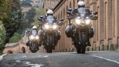 Ducati Multistrada 950: 25 le moto consegnate al Reparto Stradale della Polizia Locale di Bologna