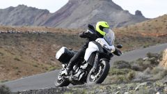 Ducati Multistrada 950 bianca