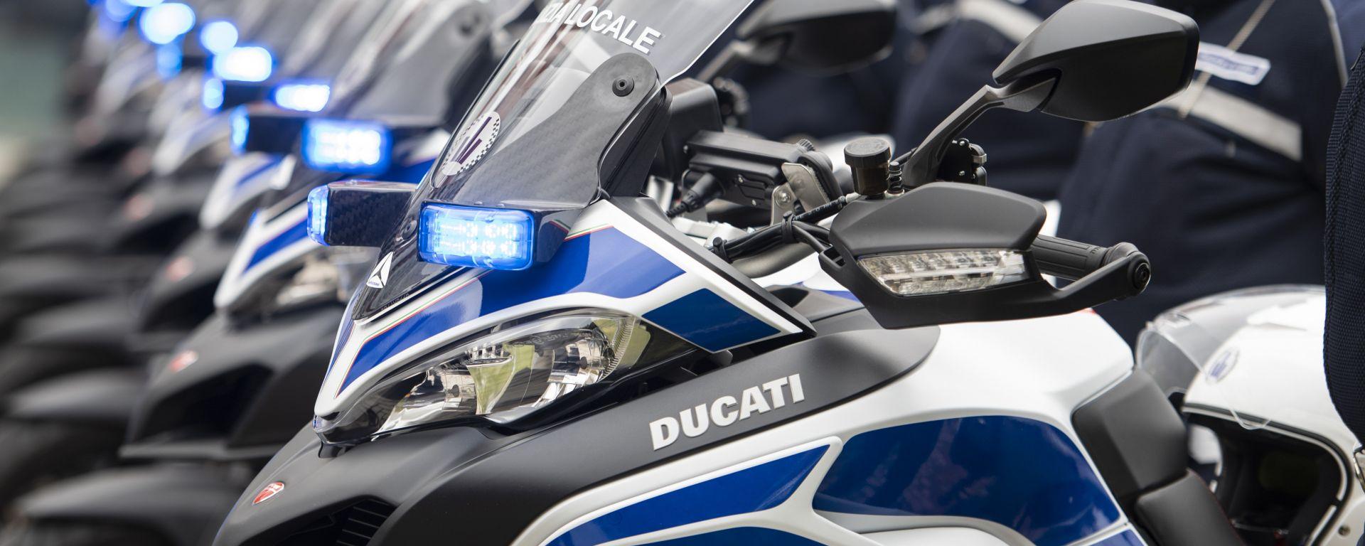 Ducati Multistrada 950 è la moto della Polizia Locale di Bologna