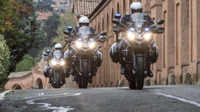 Ducati Multistrada 950: la moto della Polizia Locale di Bologna