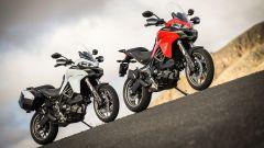 Ducati Multistrada 950, rossa e bianca