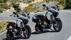 Ducati Multistrada 950 S e Ducati Multistrada 950 S con Touring Pack