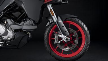Ducati Multistrada V2 S ha sospensioni semi-attive Skyhook EVO