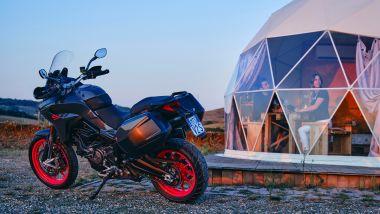 Ducati Multistrada V2 S Travel con borse laterali