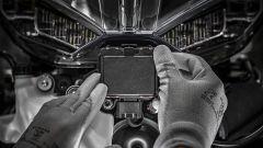 Ducati Multistrada V4: il radar anteriore per il Cruise Control Adattivo ACC