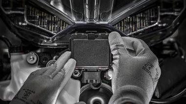 Ducati Multistrada V4: il radar anteriore