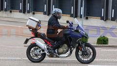 Ducati Multistrada V4: le foto spia senza camouflage