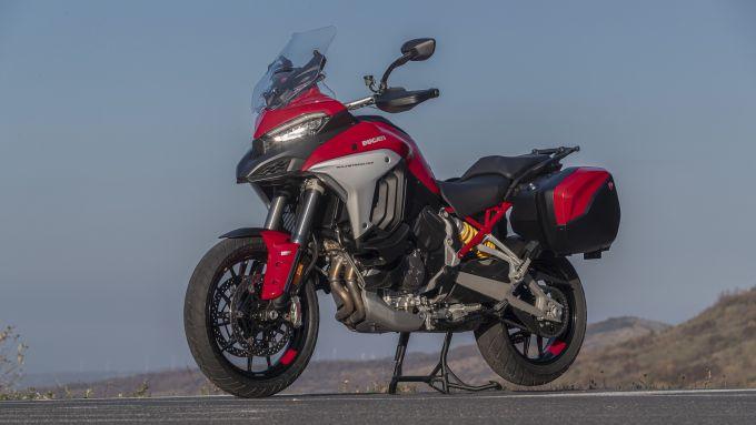 Ducati Multistrada V4S sta guadagnando posizioni nella classifica di vendite in Italia